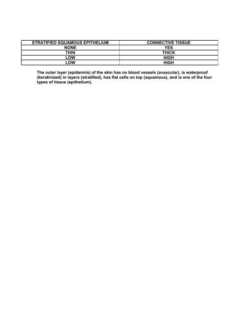 Appendages Of The Skin Worksheet Answers