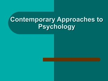 Contemporary Approaches to Psychology Power Point.pdf