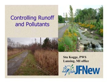 Controlling Runoff and Pollutants - Two Rivers Coalition