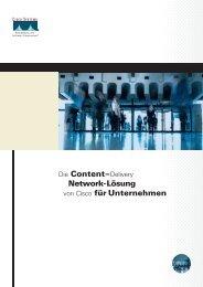 Die Content–Delivery Network-Lösung von Cisco für ... - Arbor-Link