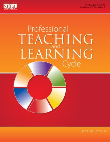 HO2: Professional Teaching and Learning Cycle: Introduction