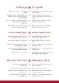 Menu italiano Menu espaniol - Page 4
