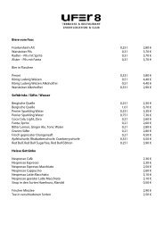 Getränkekarte (PDF) - Ufer 8