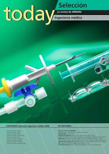 selección de ingeniería médica - Arburg