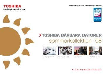 sommarkollektion -08 - Toshiba