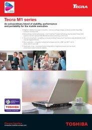 Tecra M1 series - Toshiba