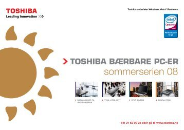 sommerserien 08 - Toshiba