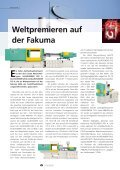 """Kundenmagazin today 33, S 15 """"alles im Zugriff - Arburg - Seite 6"""
