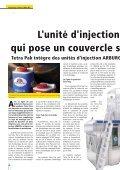 L'unité d'injection qui pose un couvercle s Tetra Pak intègre ... - Arburg - Page 6