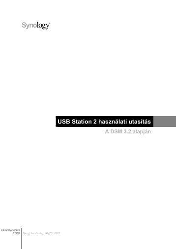 USB Station 2 használati utasítás - Synology Inc.