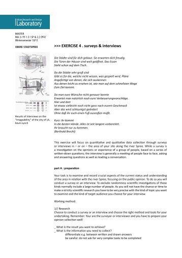 Laboratory Laboratory - Urban Research and Design Laboratory