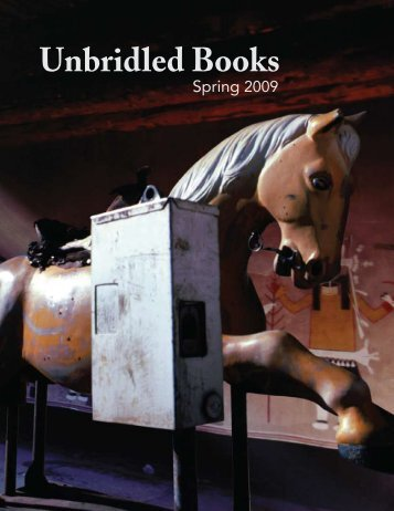 Spring 2009 - Unbridled Books