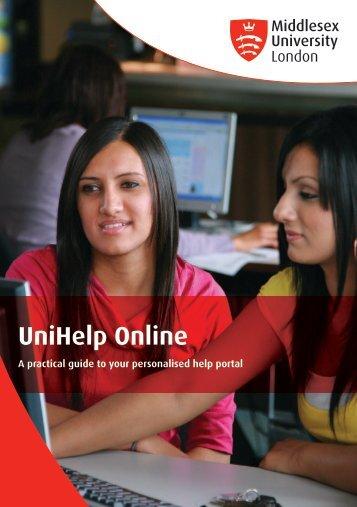 UniHelp Online User Guide - UniHub