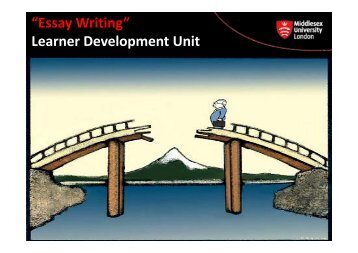 """Essay Writing"" Learner Development Unit - UniHub"