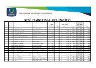 ANEXO II - CLASSIFICADOS - Resultado Final Bolsa ... - Uniplac