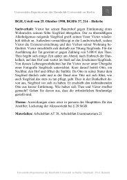 Hoferbe Sachverhalt - unirep - Humboldt-Universität zu Berlin