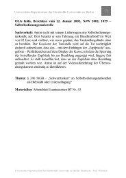 I. Objektiver Tatbestand - unirep - Humboldt-Universität zu Berlin