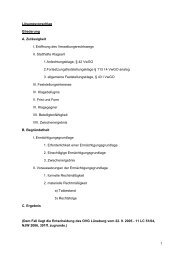 1 Lösungsvorschlag Gliederung A. Zulässigkeit I. Eröffnung ... - unirep