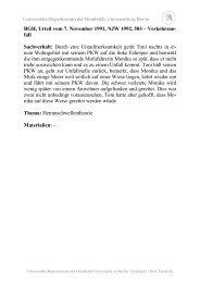 I. Tatbestand - unirep - Humboldt-Universität zu Berlin