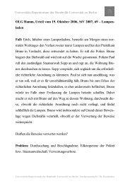 OLG Hamm, Urteil vom 19. Oktober 2006, StV 2007, 69 – Lampen ...