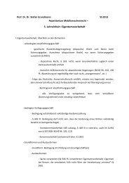 5. Lehreinheit: Eigentumsvorbehalt - unirep
