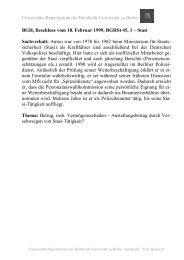 BGH, Beschluss vom 18. Februar 1999, BGHSt 45, 1 – Stasi ... - unirep