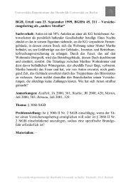 Universitäts-Repetitorium der Humboldt-Universität zu Berlin