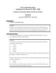 RI evaluation & recommendation template - UCLA