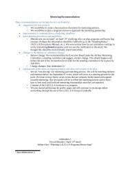 Mentoring Recommendations These recommendations can ... - UCLA