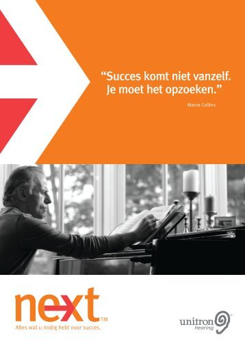 Unitron Hearing - Next - Technical Brochure - Dutch - PDF