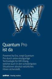 Powered by Era, sorgt Quantum Pro durch seine ... - Unitron