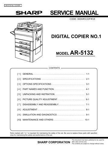 sharp ar 5316 инструкция на русском бесплатно