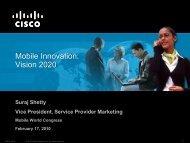 Mobile Innovation: Vision 2020 - UNM 2020