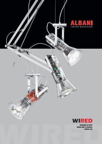TENSIONE DI RETE WIRED-HID A SCARICA WIRED-LED