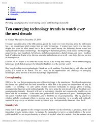 Ten emerging technology trends to watch over the next ... - UNM 2020