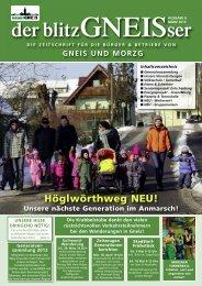 BlitzGNEISer 03/2013 - Unser Gneis