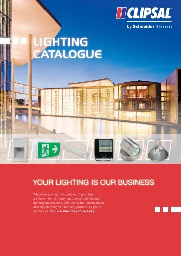 Product Data Sheets - Clipsal Lighting Catalogue, 17493