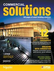 2009 Commercial Solutions - Clipsal