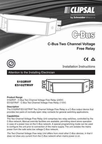 5102rvf and e5102trvf c bus two channel voltage clipsal?quality=85 c bus cool levels of control, ceiling sweep fan control clipsal c-bus relay wiring diagram at fashall.co