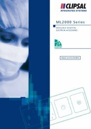 Technical Information - Medilec ML200 Series Moulded ... - Clipsal