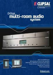 Product Data Sheet - C-Bus multi-Room audio system, 21759 - Clipsal