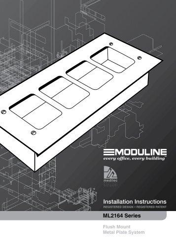 Installation Instructions - F1896 - ML2164 Series Flush ... - Clipsal