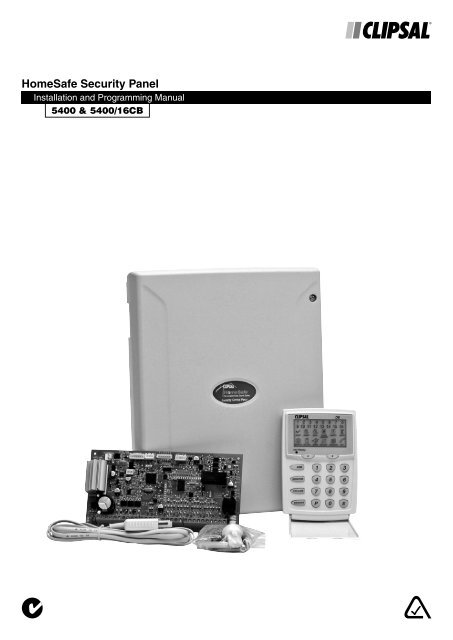 Installation Instructions - HomeSafe Security Panel ... on