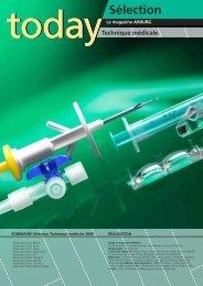 sélection technique médicale - Arburg