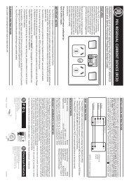 695RCD-10 695RCD-30 600 Series Horizontal RCD ... - Clipsal