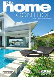 C-Bus - Home Control to enhance your lifestyle, 26134 - Clipsal