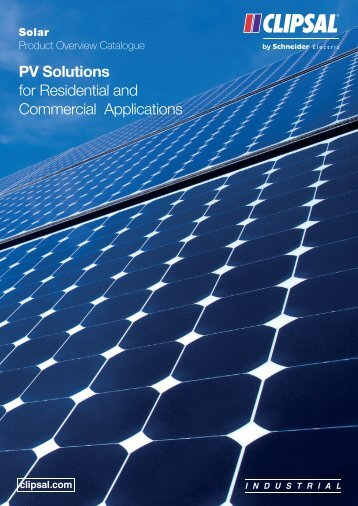 Solar Product Overview Catalogue, 24597 (3021 KB) - Clipsal