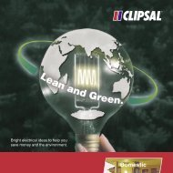 Lean and Green, Bright electrical ideas to help you save ... - Clipsal