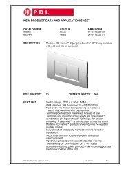 Product Data Sheet - 882 Modena 800 Series 2 Gang ... - Clipsal