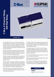 L5504RVF C-Bus2 Four Channel DIN Rail Relay (80 KB) - Clipsal